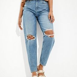 AE Ripped Relaxed Mom Jean | American Eagle Outfitters (US & CA)