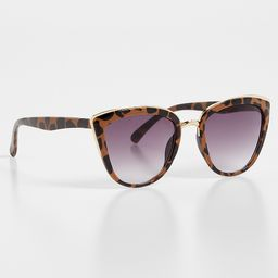 Leopard Cat Eye Sunglasses | Maurices
