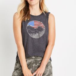 Black Flag Mountain Graphic Tank Top | Maurices