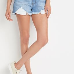 KanCan™ Classic High Rise Non-Stretch Medium Wash 3in Short | Maurices