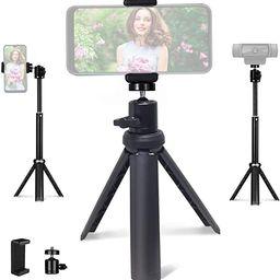 NexiGo Lightweight Mini Tripod for Camera/Phone/Webcam, Extendable Tripod Stand Compatible with N... | Amazon (US)