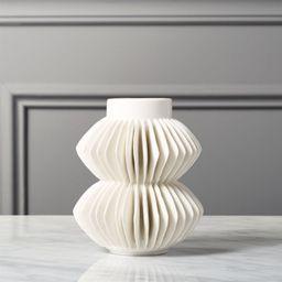 Celia White Vase + Reviews | CB2 | CB2