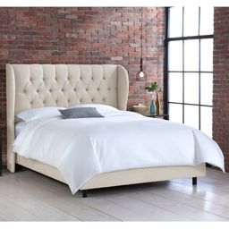 Ahumada Tufted Upholstered Low Profile Standard Bed | Wayfair Professional