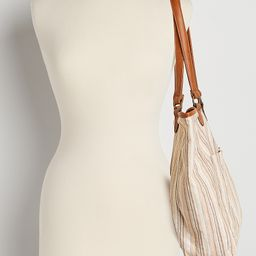 Natural Stripe Tote Bag | Maurices