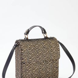 Woven Box Crossbody | Cato Fashions