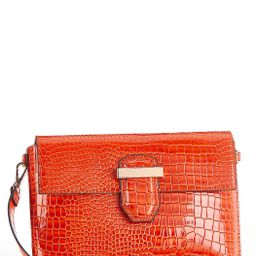 Red Croc Convertible Crossbody | Cato Fashions
