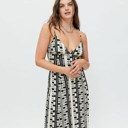UO Ashley Knit Midi Dress | Urban Outfitters (US and RoW)