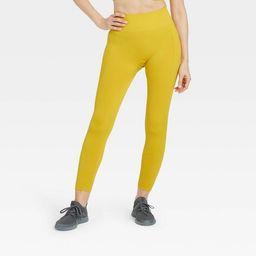 Women's Seamless High-Rise 7/8 Leggings - All in Motion™   Target