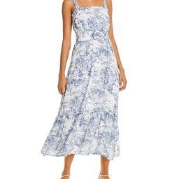 Belted Toile-Print Midi Dress - 100% Exclusive   Bloomingdale's (US)