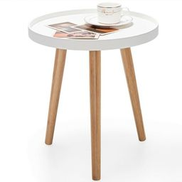 Costway Round Side Table Sofa Coffee End Accent Table Nightstand Home Furniture | Target