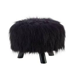 Faux Fur Foot Stool - Linon | Target
