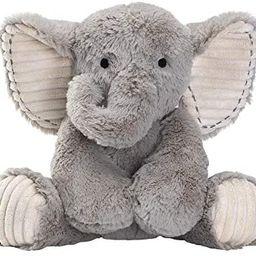 Lambs & Ivy Jungle Safari Gray Plush Elephant Stuffed Animal Toy - Jett   Amazon (US)