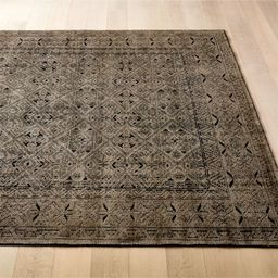 Raumont Hand-knotted Brown Detailed Rug | CB2 | CB2
