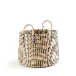 Nakou Round Seagrass Basket | La Redoute (UK)