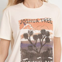 Joshua Tree Oversized Graphic Tee | Maurices