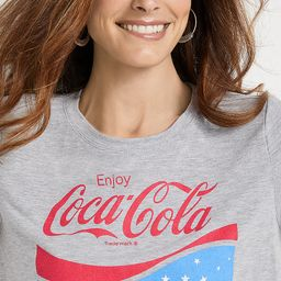 Gray Coca Cola Graphic Tee | Maurices