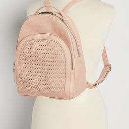 Blush Woven Backpack | Maurices