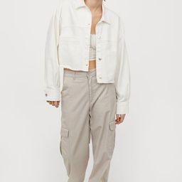 Twill Crop Jacket   H&M (US)