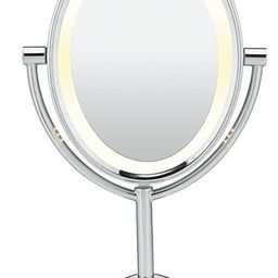 Conair Reflections Double-Sided Incandescent Lighted Vanity Makeup Mirror, 1x/7x magnification, P... | Amazon (US)