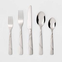 Marisol Silverware Set 20-pc. Stainless Steel - Threshold™ | Target