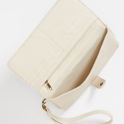 Cream Woven Wallet | Maurices