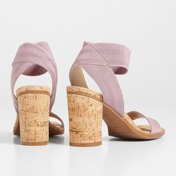 Hillary Ankle Strap Block Heel Sandal | Maurices