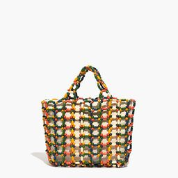 The Small Transport Tote: Beaded Edition   Madewell