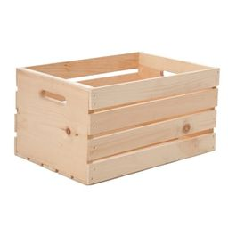 Carry All Wooden Crate by Craft Smart®   Michaels Stores