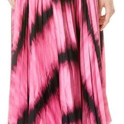 Katz Tie Dye Sunburst Pleated Skirt | Nordstrom