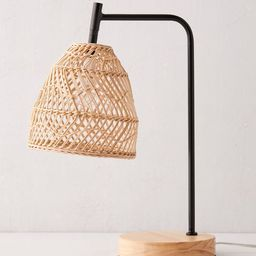 Rattan Desk Lamp | Urban Outfitters (US and RoW)