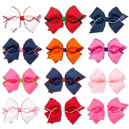 Moonstitch Hair Bow | Smocked Auctions