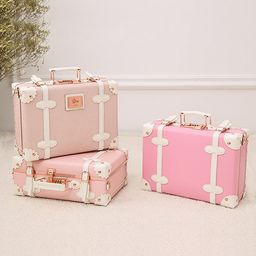 Vintage Inspired Petite Suitcase   Apollo Box
