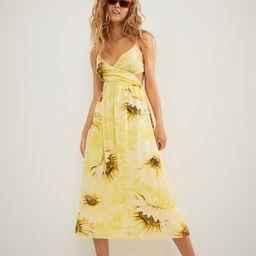 V-neck Cotton Dress | H&M (US)