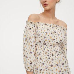 Off-the-shoulder Dress | H&M (US)