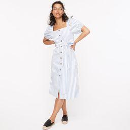 Cottage dress in stripe | J.Crew US
