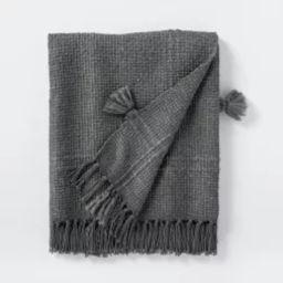 Woven Plaid Cotton Acrylic Throw Blanket - Threshold™ designed with Studio McGee | Target