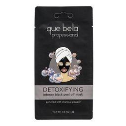 Que Bella Professional Detoxifying Black Peel Off Face Mask - 0.5oz   Target