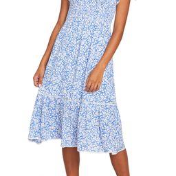 Pick Me Floral Smocked Dress | Nordstrom
