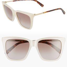 Indio 55mm Gradient Cat Eye Sunglasses | Nordstrom