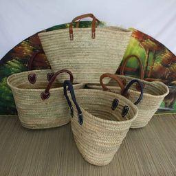 SHOPPING BASKET  Berber Moroccan Palm Straw  Market Shopping | Etsy | Etsy (CAD)
