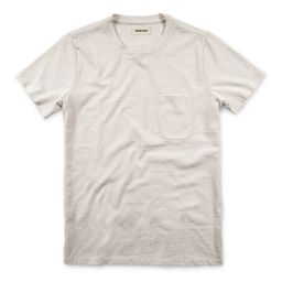 The Heavy Bag Tee in Natural   Taylor Stitch