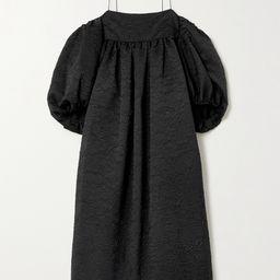 Holly oversized matelassé satin dress | Net-a-Porter (UK & EU)