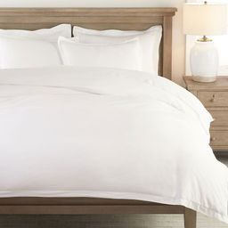 Washed Sateen Duvet Cover | Pottery Barn (US)
