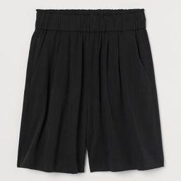 Lyocell-blend Shorts  $24.99 | H&M (US)