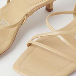 Leather Sandals  $69.99 | H&M (US)