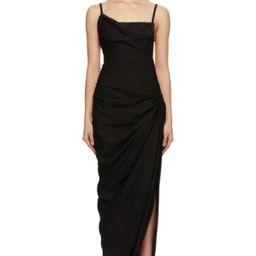 Black 'La Robe Saudade Longue' Dress   SSENSE