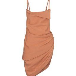 La Robe Saudade hemp-blend minidress   Mytheresa (US)