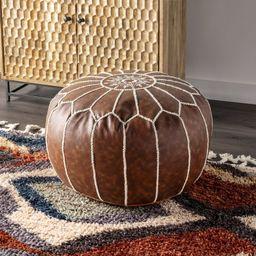 "20"" Round Pouf Ottoman   Wayfair North America"
