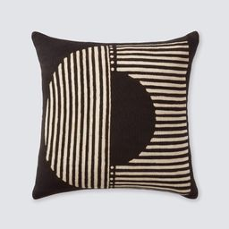 Demi Mud Cloth Pillow - Black   The Citizenry