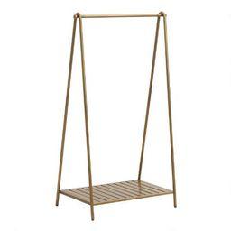 Gold Metal Clothing Rack | World Market